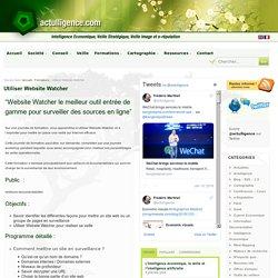 Formation Website Watcher
