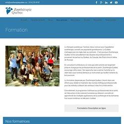Formation - Zoothérapie Québec