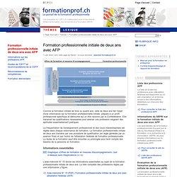 AFP - Formationprof.ch