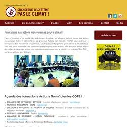 Formations aux actions non-violentes pour le climat !