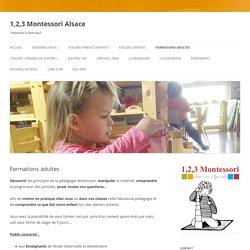 1,2,3 Montessori - Alsace