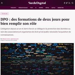 DPO : des formations de deux jours pour bien remplir son rôle