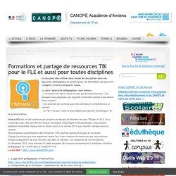 Formations et partage de ressources TBI pour le FLE et aussi pour toutes disciplines |
