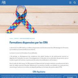 Formations dispensées par les CRA - Pas de CRA Champagne Ardennes