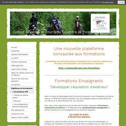 > Formations FFE - CRTE Picardie