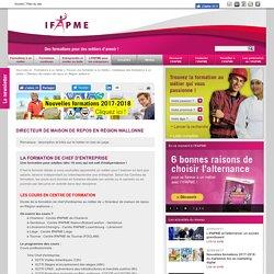 Formations à un métier»Trouver une formation à un métier»Catalogue des formations à un métier»Directeur de maison de repos en Région wallonne