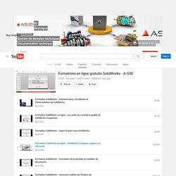 Formations en ligne gratuite SolidWorks - A-S3D