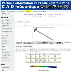 CAO PDM PLM - Formations initiale et continue - Ecole Centrale Paris