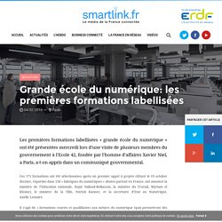 Grande école du numérique: les premières formations labellisées