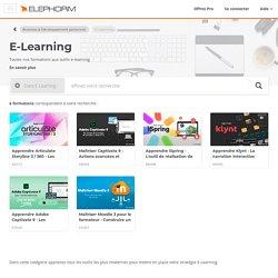 Formations E-Learning - Formations par des experts certifiés