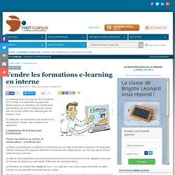 Vendre les formations e-learning en interne