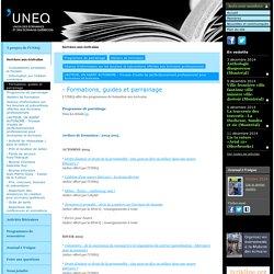 UNEQ - Formations, guides et parrainage - Services aux écrivains -