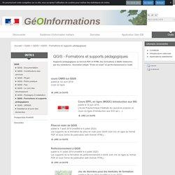 QGIS - Formations et supports pédagogiques