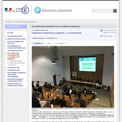 co-intervention-formation de formateurs EP-