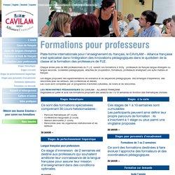 Formations pour Professeurs de FLE Archives - CAVILAM