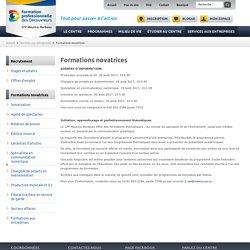 Lancement d'entreprise avec thématique - Centre de formation professionnelle Maurice-Barbeau - Attestation de spécialisation professionnelle (ASP)