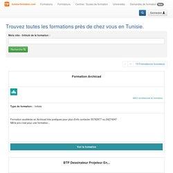 Trouvez toutes les formations professionnelles près de chez vous en Tunisie