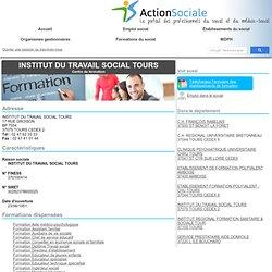 INSTITUT DU TRAVAIL SOCIAL : Formations Aide médico-psychologique, Assistant familial, Auxiliaire de vie sociale