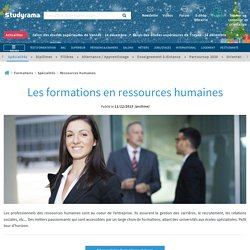 Les formations en ressources humaines