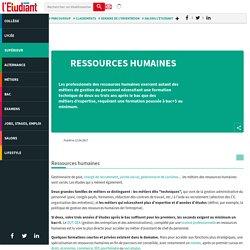 Formations Ressources humaines pour vos études en Ressources humaines - L'Etudiant