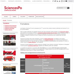 Sciences Po Campus de Reims