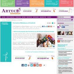 Ecole de formations Art thérapie et Danse thérapie PARIS - Artec Formation