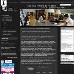 Les formations du Lycée Victor Hugo de Poitiers