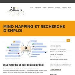 Alliam – Formations mind mapping et pensée visuelle » Mind mapping et recherche d'emploi