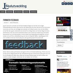 Formativ feedback – JL Skolutveckling