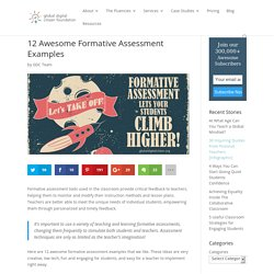 12 Awesome Formative Assessment Examples
