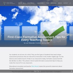 First-Class Formative Assessment Tips for Every Teaching Toolkit