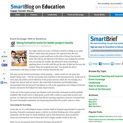 Using formative tools for better project results SmartBlogs