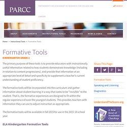 Formative Tools