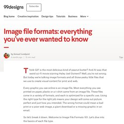 Image file formats: everything you've ever wanted to know - 99designs Blog