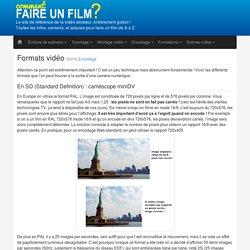 Formats vidéo