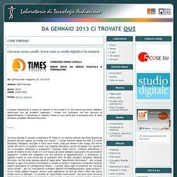 Carrozze senza cavalli: breve nota su media digitali e formazione - LTAonline - Università Roma Tre