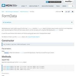 FormData