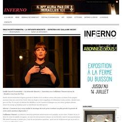 EMILIE INCERTI-FORMENTINI, «LA VIRTUOSITE INDISCRETE : ENTRETIEN AVEC GUILLAUME VINCENT