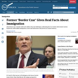Former 'Border Czar' Gives Real Facts About Immigration