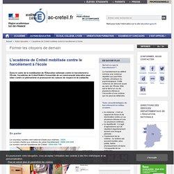 Former les citoyens de demain - ac-creteil.fr