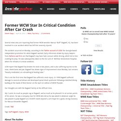 Former WCW Star In Critical Condition After Car Crash