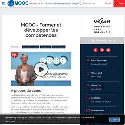 FUN - MOOC - Former et développer les compétences