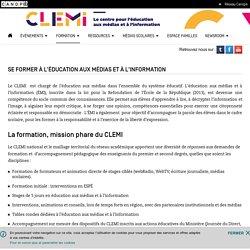 Se former à l'Éducation aux Médias et à l'Information- CLEMI