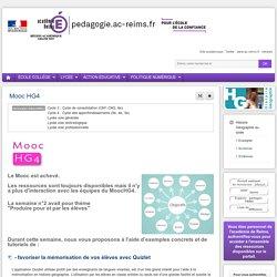 Se former : Histoire Géographie lycée - Mooc HG4
