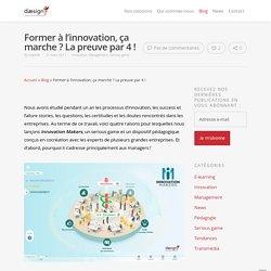 Former à l'innovation, ça marche ? La preuve par 4 ! · Daesign