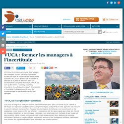 VUCA : former les managers à l'incertitude