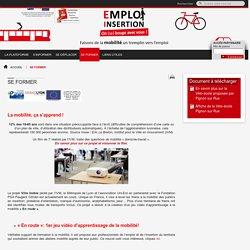 SE FORMERPlateforme mobilité emploi insertion