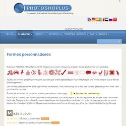 Photoshoplus - Formes personnalisées