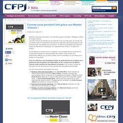 Formation professionnelle continue des journalistes - CPJ