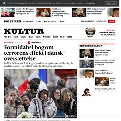 Formidabel bog om terrorens effekt i dansk oversættelse